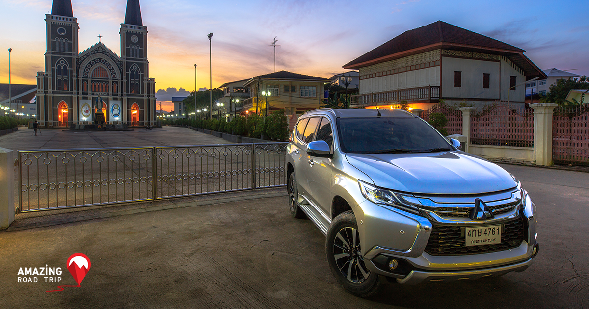Beauty of the All New Pajero sport VS Beauty of Chantaburi, Gem of the East