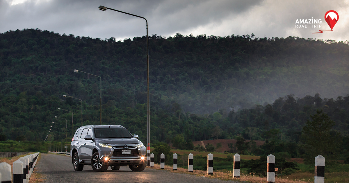 Take in the Fresh Oxygen on the Hills of nearby Nakhon Nayok with the All New Mitsubishi Pajero sport