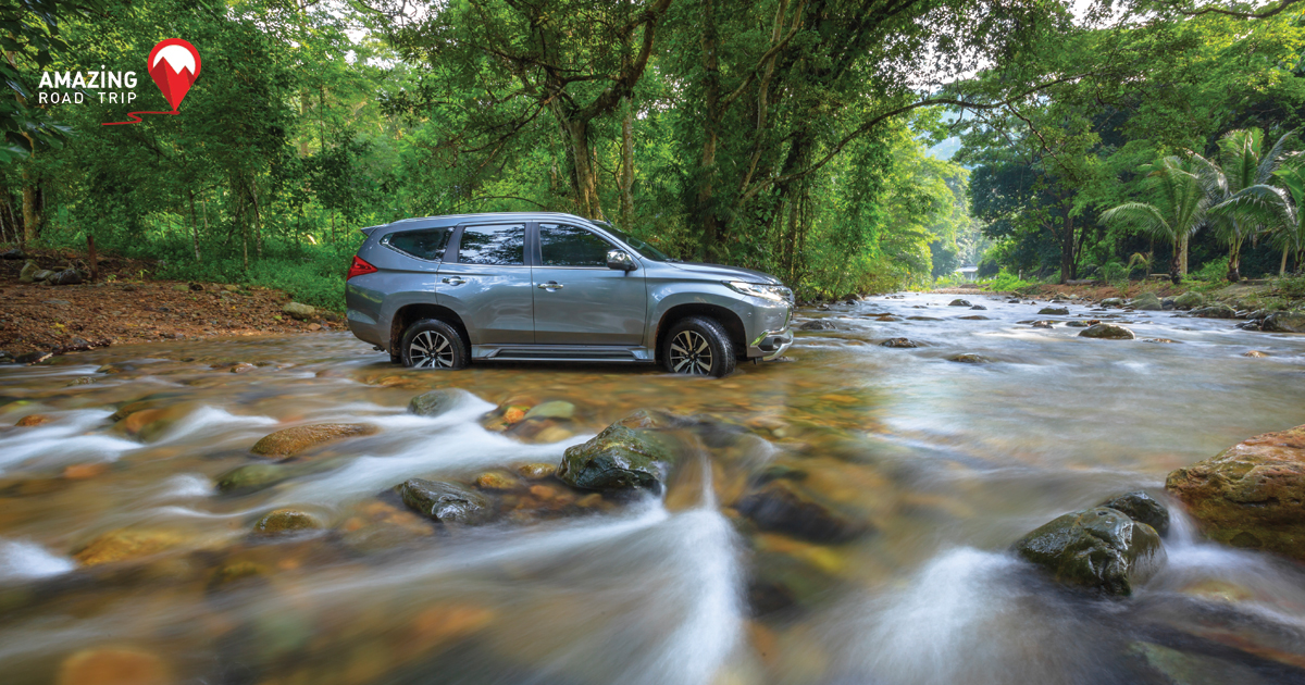Test the Prowess of the All New Mitsubishi Pajero sport at Khlong Madua in Nakhon Nayok