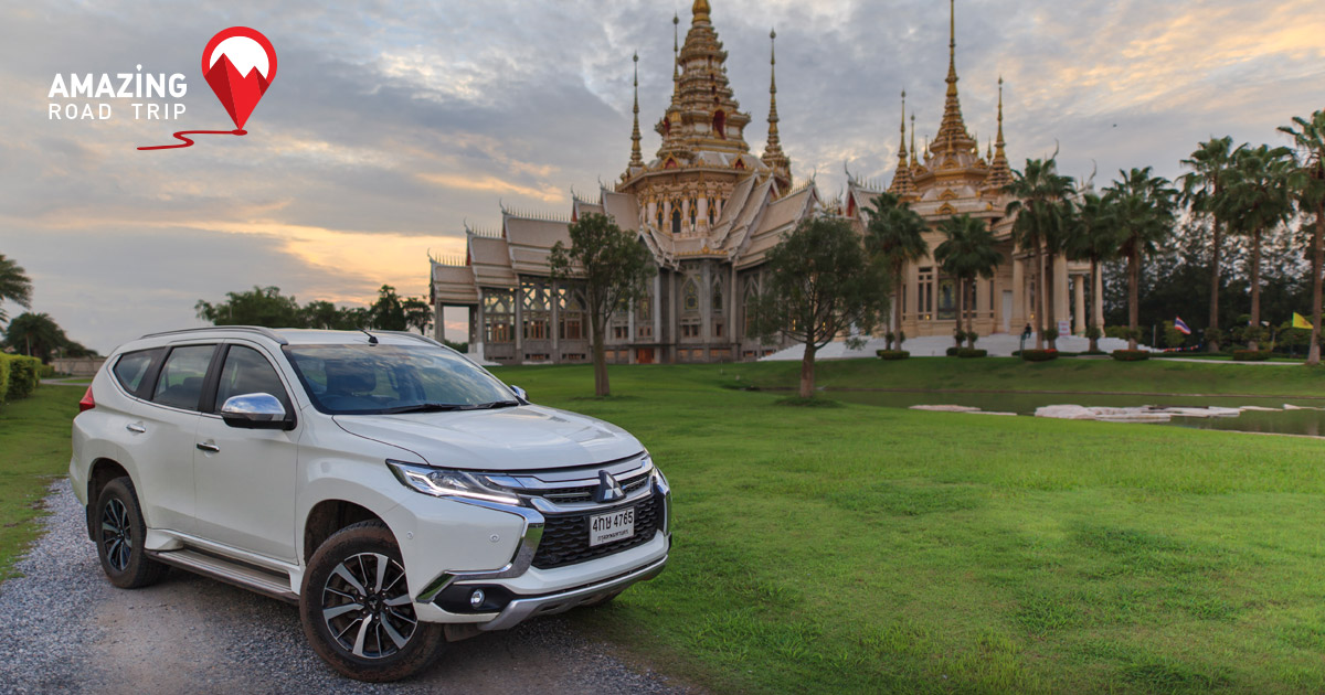 Pay Respect to Luang Por Toh and View Windmills in Nakhon Ratchasima with the All New Mitsubishi Pajero Sport
