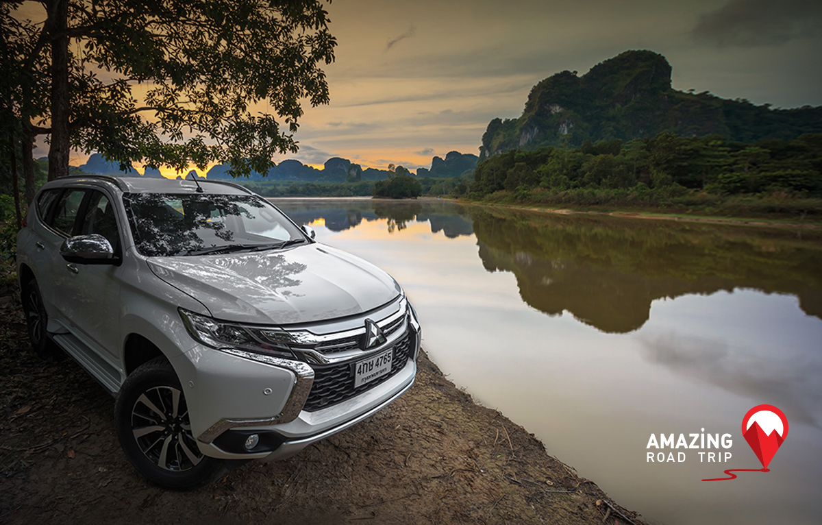 All New Mitsubishi Pajero Sport Takes you to Nongtalay, Krabi.
