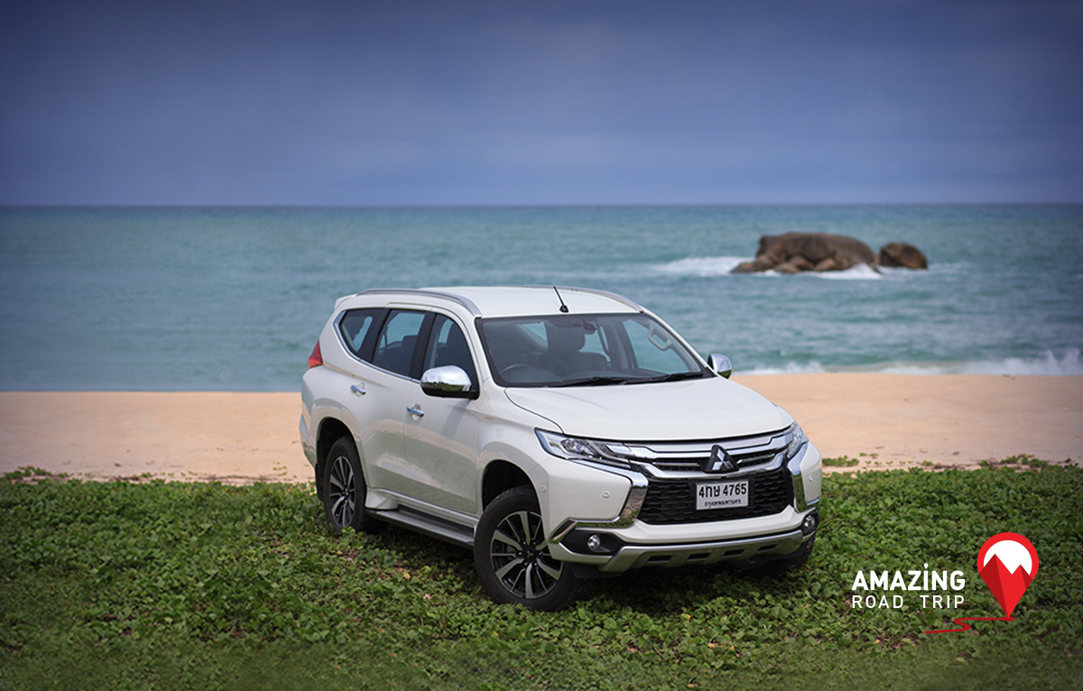 All New Mitsubishi Pajero Sport Brings You to Ban Pilai in Phangnga Province.