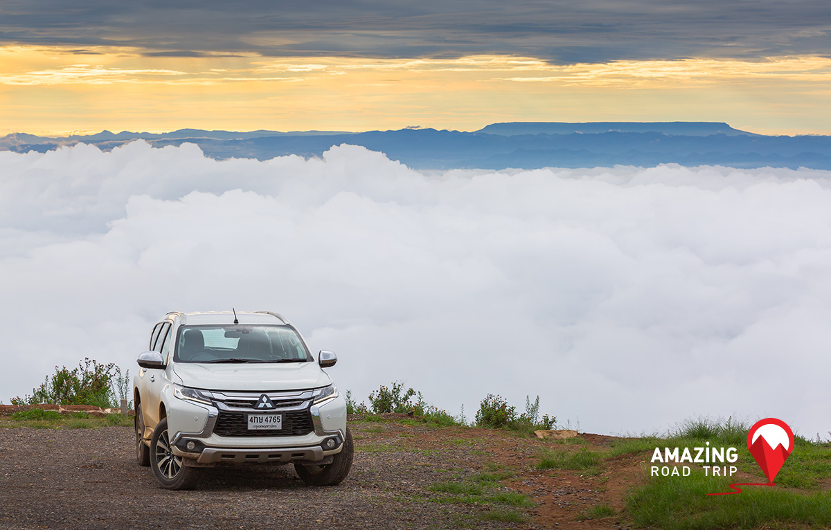 Witness the Amazing Sea of Mist at Phu Tub Berk in Petchaboon with All New Mitsubishi Pajero Sport