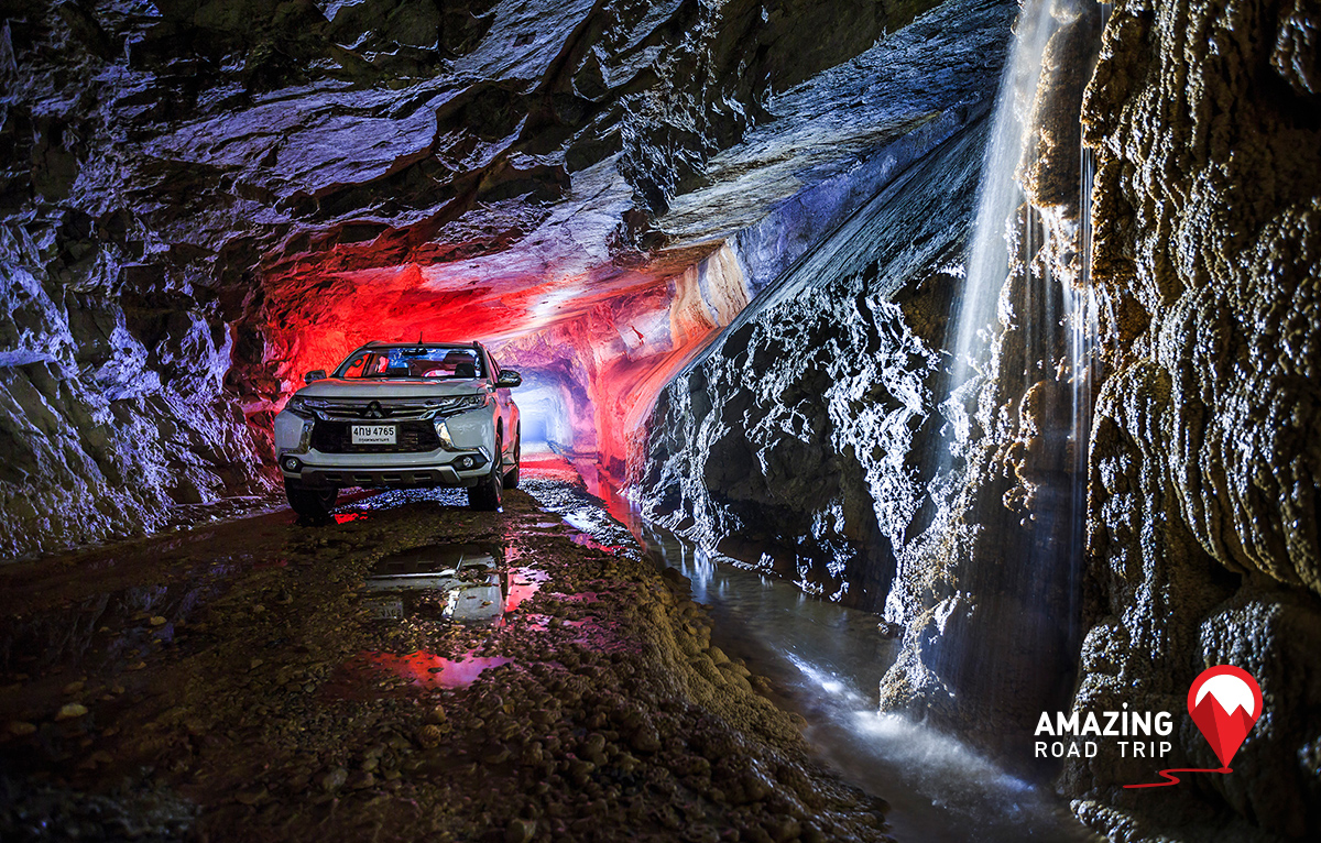 Be at One with Nature in Visit to Sahakorn Nikom Mine as Mitsubishi Pajero Sport Brings You to Kanchanaburi