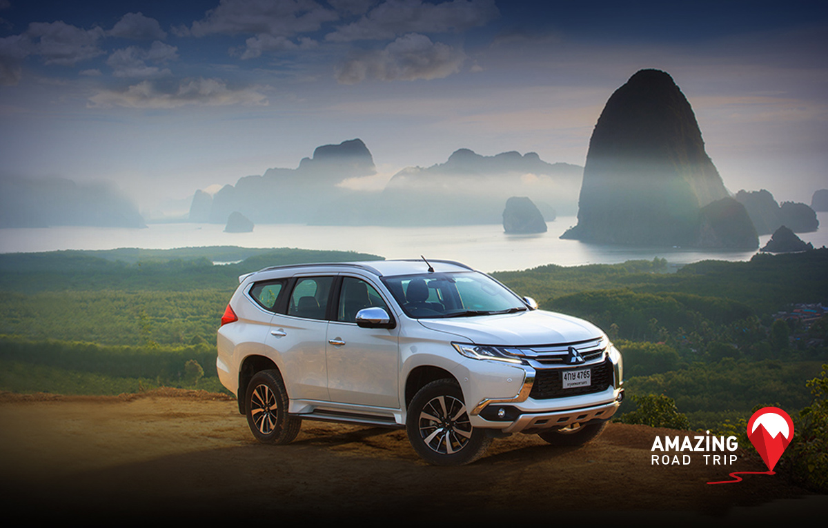 All New Mitsubishi Pajero Sport to View the 180 Degree Scenery of Toh Li View Point