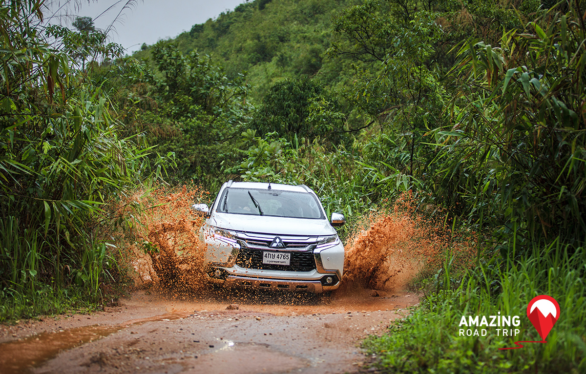 Visit the Famed Wat Tham Sua in Kanchanaburi with the Mitsubishi All New Pajero Sport