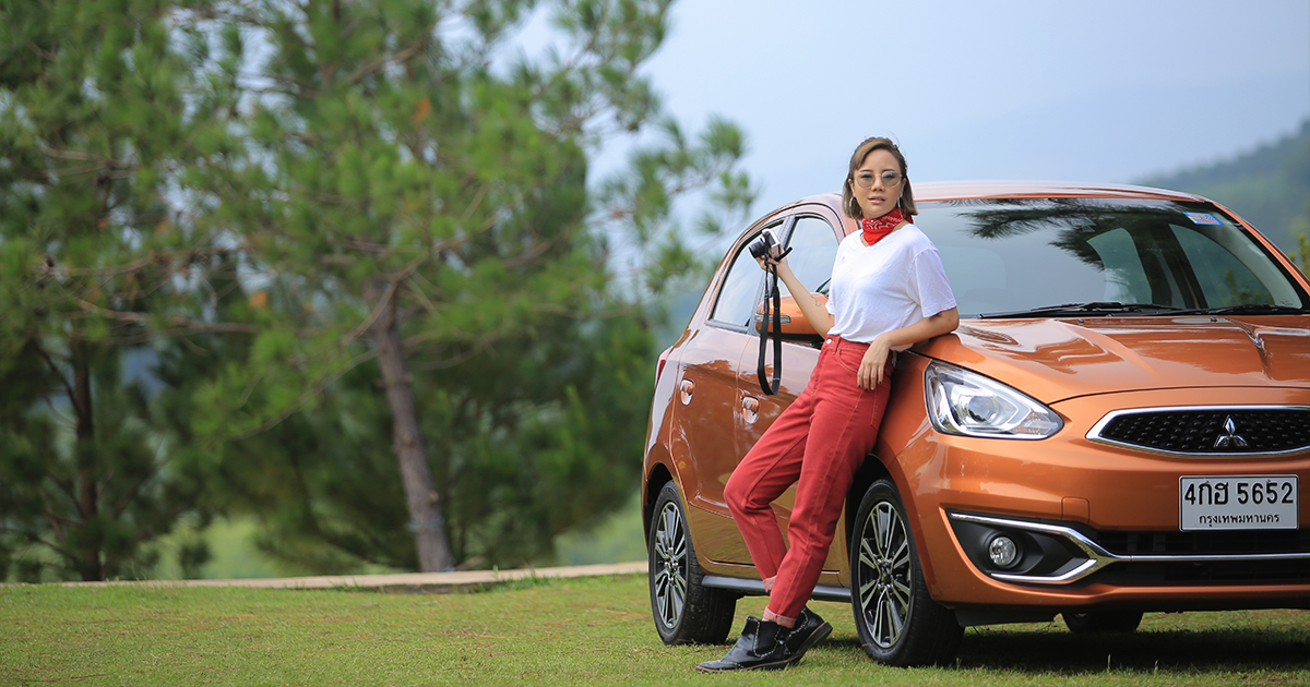 Traveling Alone? Not a Problem with Mitsubishi Mirage