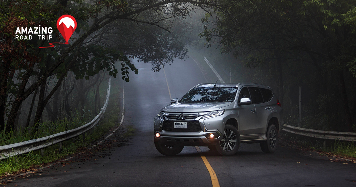 Experience the Chinese Settlement on Doi Mae Salong with the All New Pajero sport