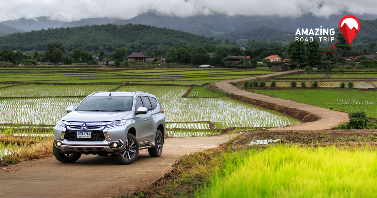 The Memorable Mae Cham with the All New Pajero sport