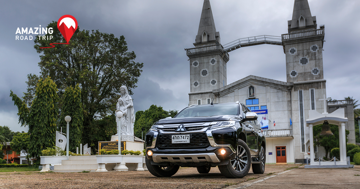 Study Vietnamese Culture in Thailand, Pay Respect to Ancient Temples with the All New Pajero sport