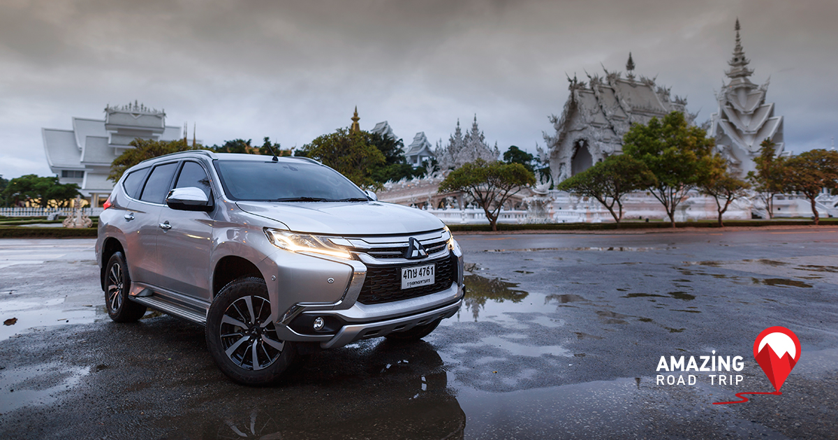 All New Pajero sport Challenges You to Brave the Cold and Visit Chiang Rai
