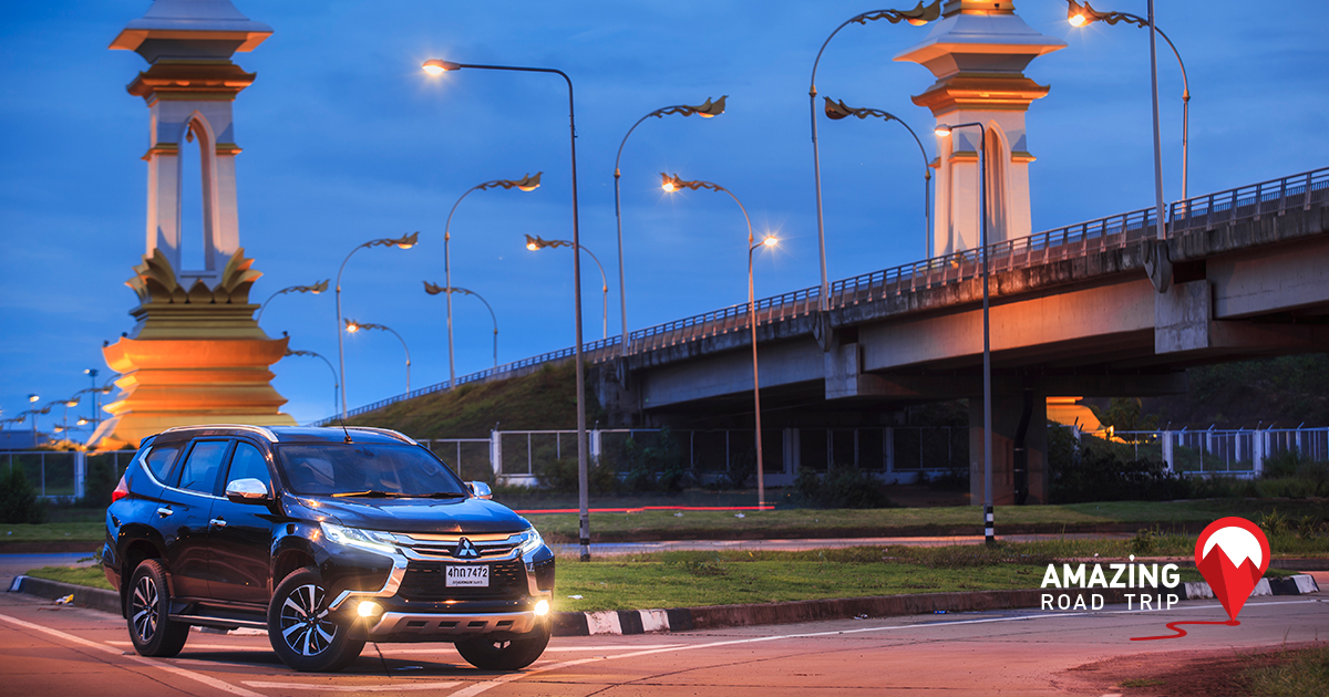 Go Wow in Nakhon Phanom with the All New Pajero sport and Celebrate the Thai-Laotian Friendship